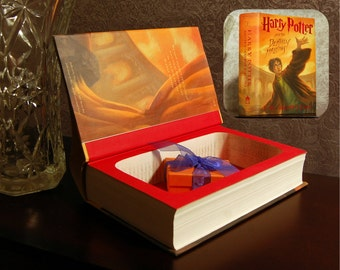 Hollow Book Safe - Harry Potter and The Deathly Hallows - Secret Book Safe