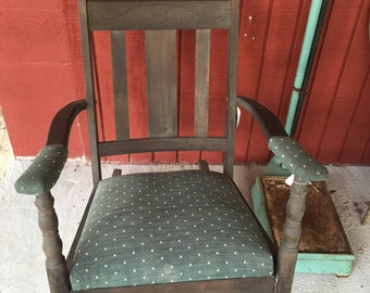 Antique Rocker, Farmhouse Decor, Porch Decor, Rocking Chair