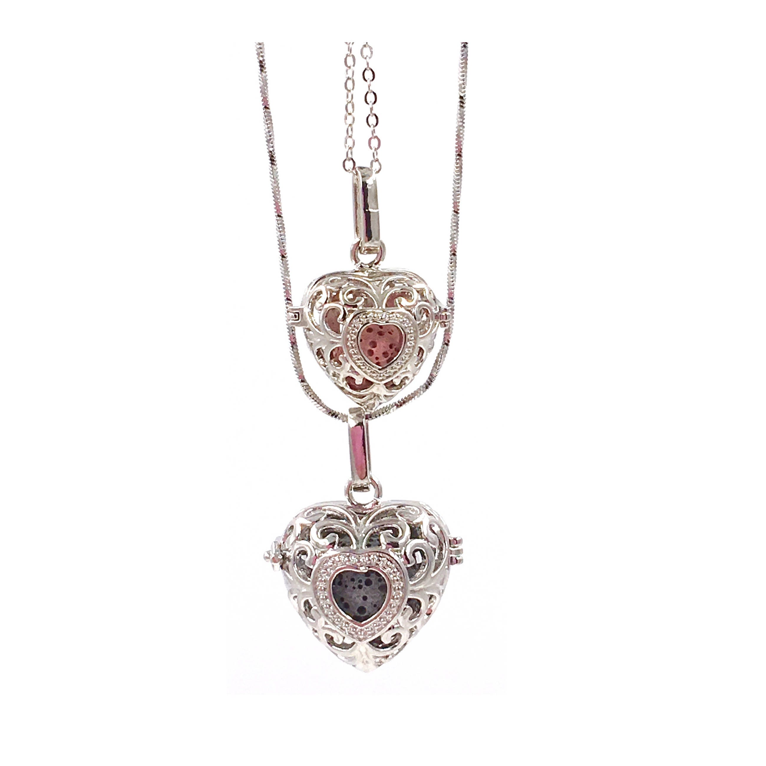products image of tree locket necklace oil diffuser freckle essential life face