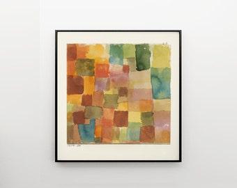 Paul Klee abstract art print