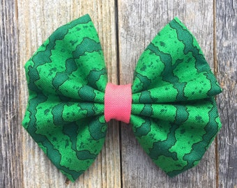 Green Watermelon Bow