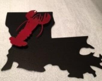 3D Louisiana Crawfish