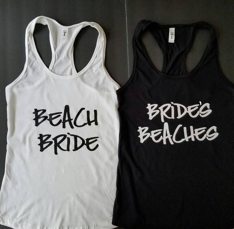 Beach Bachelorette Bachelorette Shirts Bridal Party Shirts