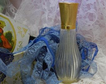 Vintage Avon Unforgettable Cologne Mist Bottle Glass Empty
