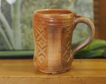 Wood fired Stoneware Beer Stein