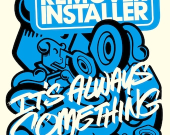 RemoverInstaller poster by Shawn Wolfe