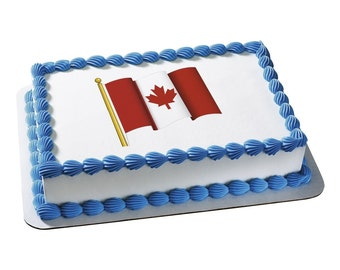 Edible Image Canadian Flag