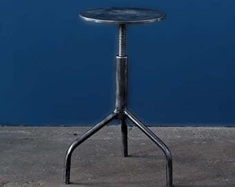 Vintage medical metal stools