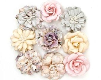 Prima- Julienne Flower Embellishments