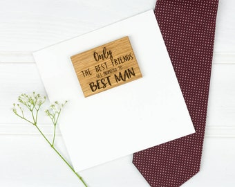 Personalised Be My Best Man Or Usher Card