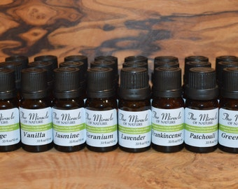 Essential Oils Pure Natural Aromatherapy Massage 10ml 0.33oz