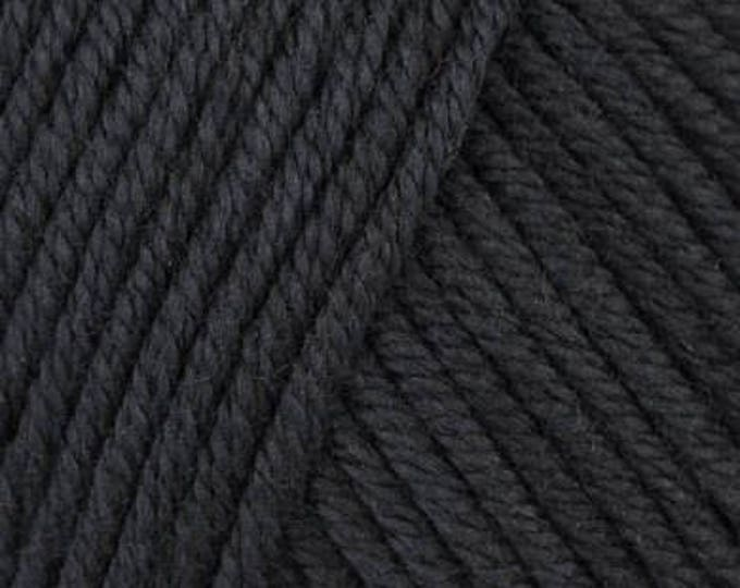 DMC Natura Medium - Aran/10ply - Noir 332.02