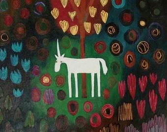 Unicorn Tapestry II
