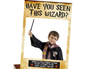 Have You Seen This Wizard Photo Booth Prop (Instant Download) Harry Potter Decorations, Azkaban Print, Poster, Photo Booth Frame