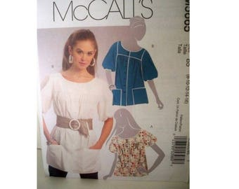McCall's 5665 Womens Top Pattern - Uncut