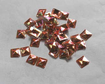 100 Pink Color / Metallic Sequins/ Square Shape /KBSS732