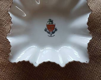 "Vintage Beautiful ""Ford & Pointon"" Fine Bone China Tray/ Trinket Dish- Made in England!"