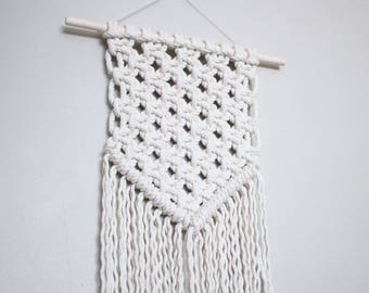 Macrame Wall Hanging | Symmetrical Banner Style