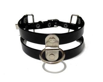 Connection Choker. Double Strand Ring Collar