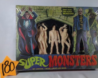 1960's Mego style Super Monsters Set from England