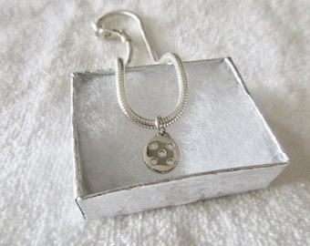 NEW Sterling Silver Pickleball Ankle Chain