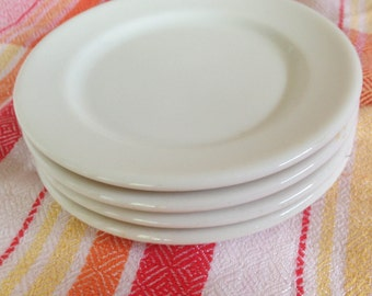 Syracuse China Restaurant Appetizer Plates - Set of 4