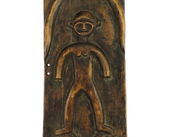 Mossi Figural Granary Door Burkina Faso African Art 90238