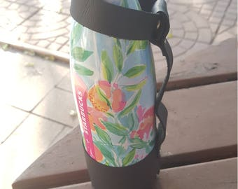 Swell bottle (or Similar) Leather Hand Strap