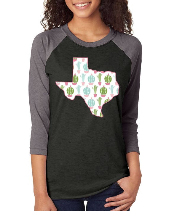 Texas Shirt, State of Texas, Unisex Raglan