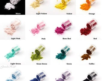 Flocking Powder Velvet Nails Art Pigment Flocking Dust Dollhouse Miniature Decoration Craft Fuzzy Flock Tiny Fibers Manicure DIY Tips