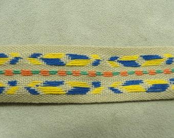 FANCY linen Ribbon - 1.5 cm