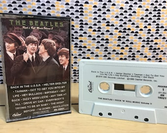 Beatles - Rock 'N' Roll Music Volume 2  -  Cassette tape - Capitol Records