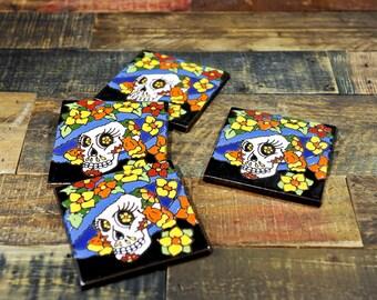 Ceramic Coaster Set | Catrina Elegente