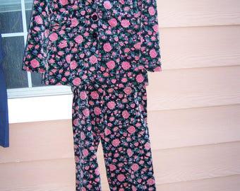70's velvet prestige pantsuit