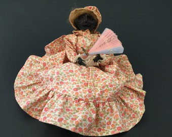 Vintage Cloth Bendable Wire Doll