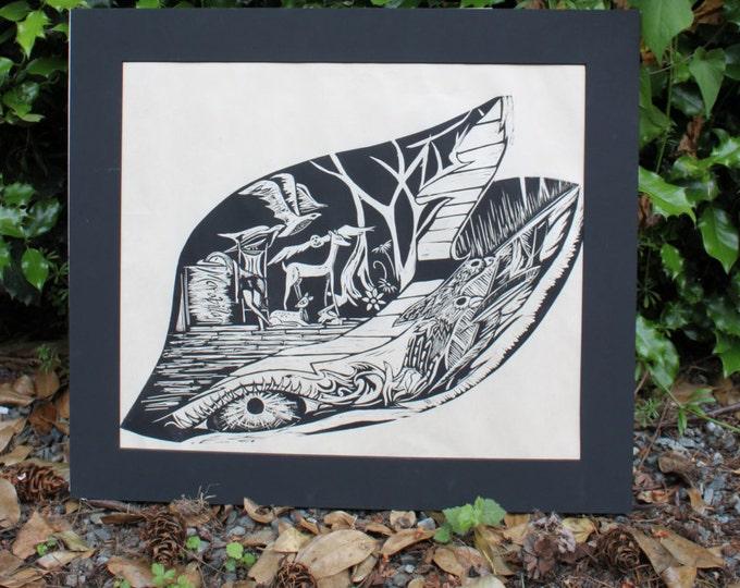 Marabillas Black and White Print