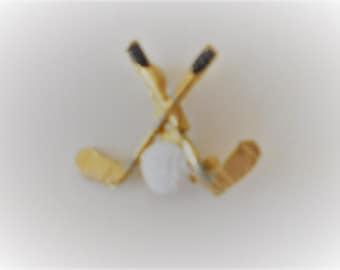 Golfers'  Brooch