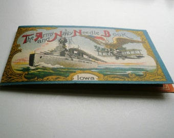 The Army And Navy Needle Book With Needles