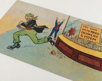 Edwardian Funny Postcard