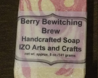 Berry Bewitching Brew Cold Process Goat Milk Soap