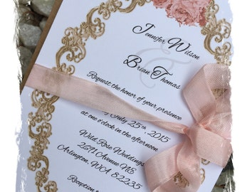 Wedding invitations etsy ca quinceanera invitation card stopboris Choice Image