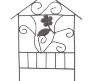 Miniature Trellis, Fairy Garden Trellis, Garden Decor for Fairy House, Terrarium, Miniature Garden, Fairy Garden, Zen, and Dollhouses