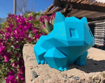 Bulbasaur | Bulbasaur Planter | Bulbasaur Pot | Pokemon | Pokemon Gift | Pokemon Decor | Small Succulent Pot | Succulent Planter
