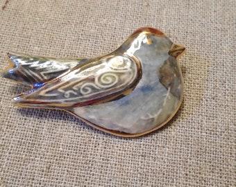 Ceramic brooch (426)