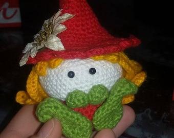 Kobold Plush-Crochet elf-elf Amigurumi-Christmas kobold