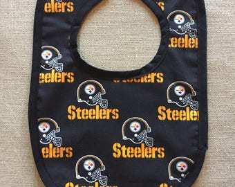 Pittsburgh Steelers Baby Bib