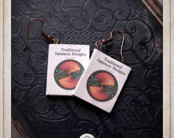 "Earrings ""Japanese traditional patterns"" ML002 eBooks"