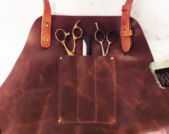 Extra Pockets on leather Aprons - Extra zakken op lederen schorten