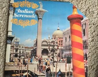 Vintage Album Italian Serenade- Record 3