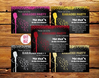 Karaoke invitation karaoke party invitation karaoke karaoke party invitation karaoke birthday invitationkaraoke birthday invitation printablekaraoke party stopboris Image collections